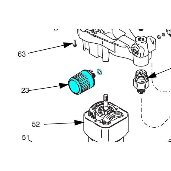 Bouton de reglage pression pour MagnumDX
