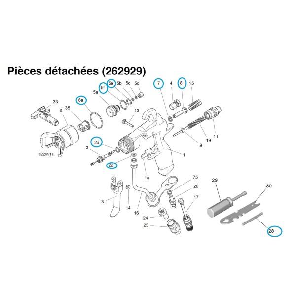 kit joints pistolet g40 tecmarquage catalogue. Black Bedroom Furniture Sets. Home Design Ideas