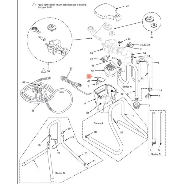 Kit tableau controle Magnum DX