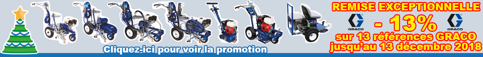 Promotion TECMARQUAGE Machines GRACO LineLazer